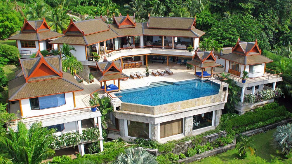Property for sale in phuket by thai for Villa de luxe moderne interieur