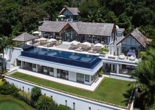 Luxury Private Sea View Villa Surin Phuket