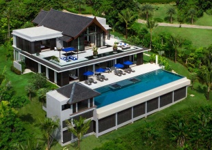 Luxury 4 Bed Pool Villa Cape Yamu Phuket