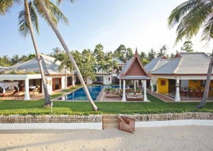 Luxury Thai Style Beach Villa Bophut Koh Samui