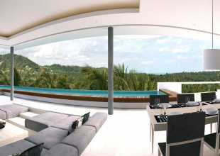 6 Bedrooms, Villa, Holiday Villa Rentals, Listing ID 1113, Choeng Mon, North East, Koh Samui,