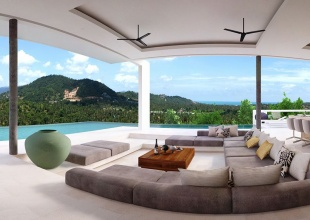 6 Bedrooms, Villa, Holiday Villa Rentals, Listing ID 1116, Choeng Mon, North East, Koh Samui,
