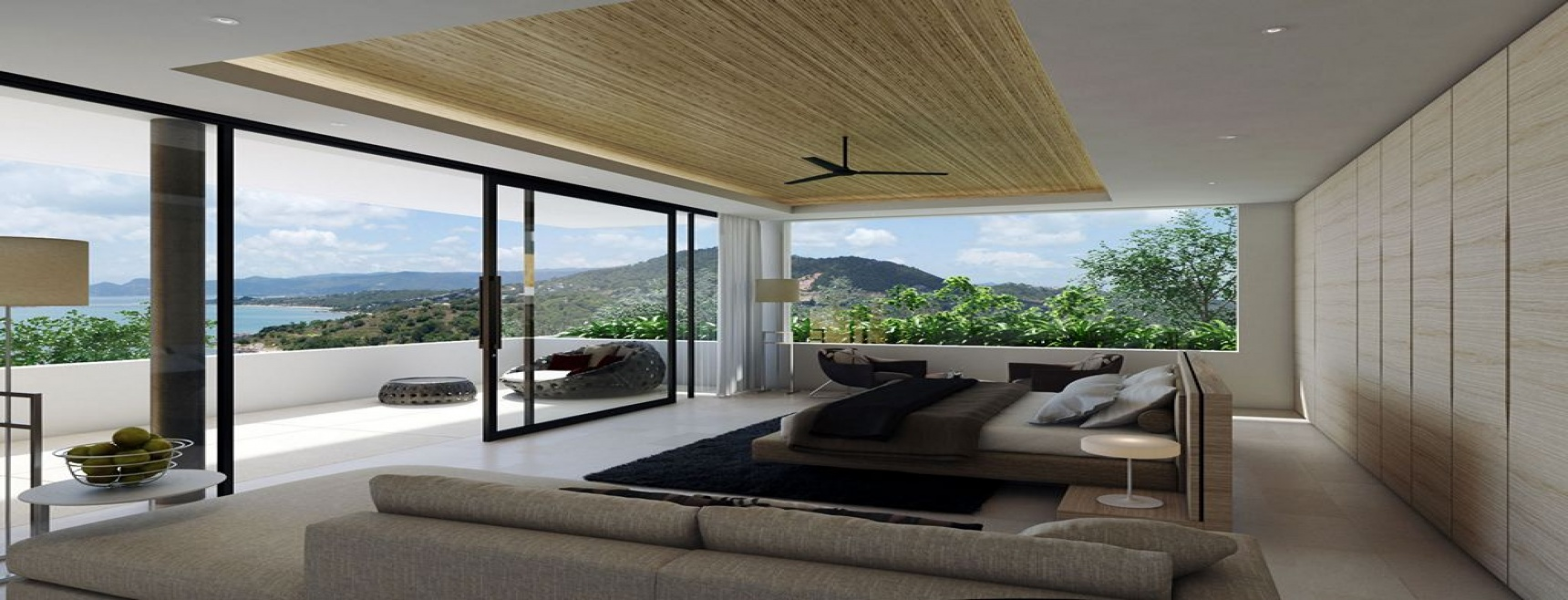 8 Bedrooms, Villa, Holiday Villa Rentals, Listing ID 1119, Choeng Mon, North East, Koh Samui,