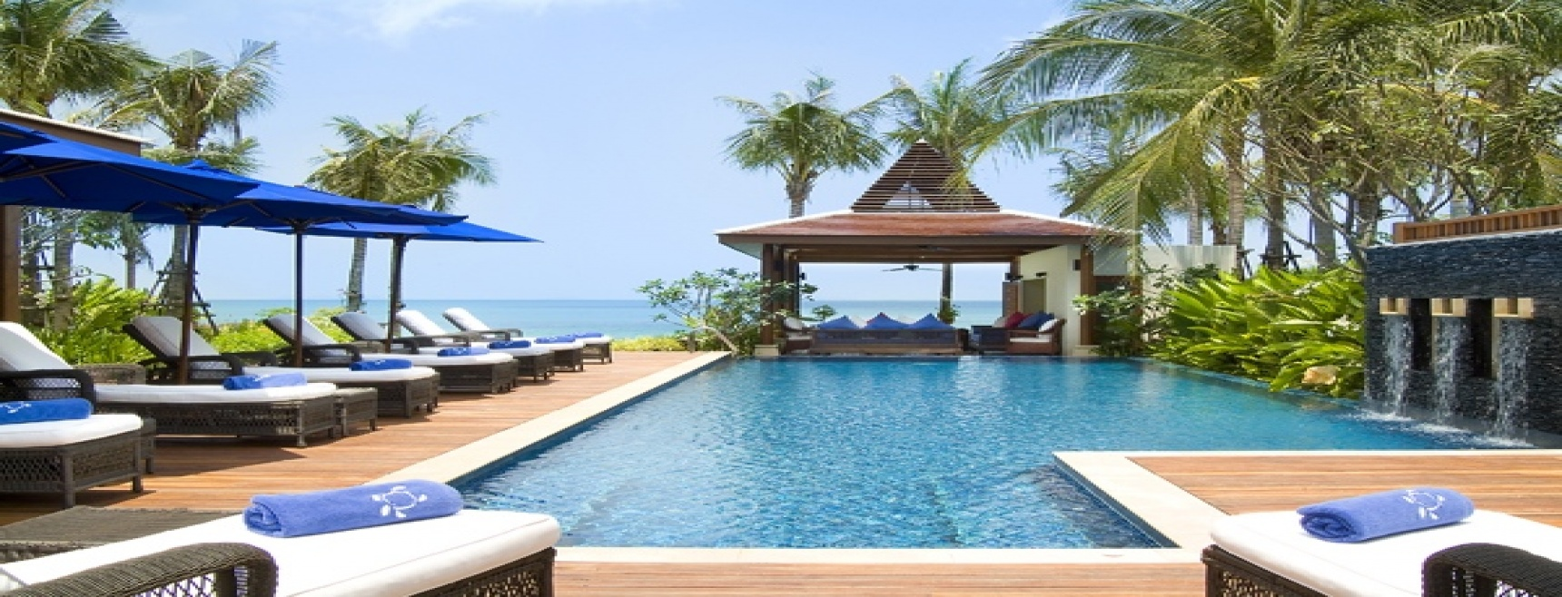 Simply providing the ultimate in luxury tropical island living