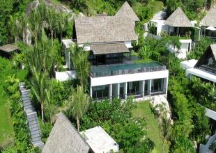 Phuket Private Waterfront Property Villa Yang Kamala