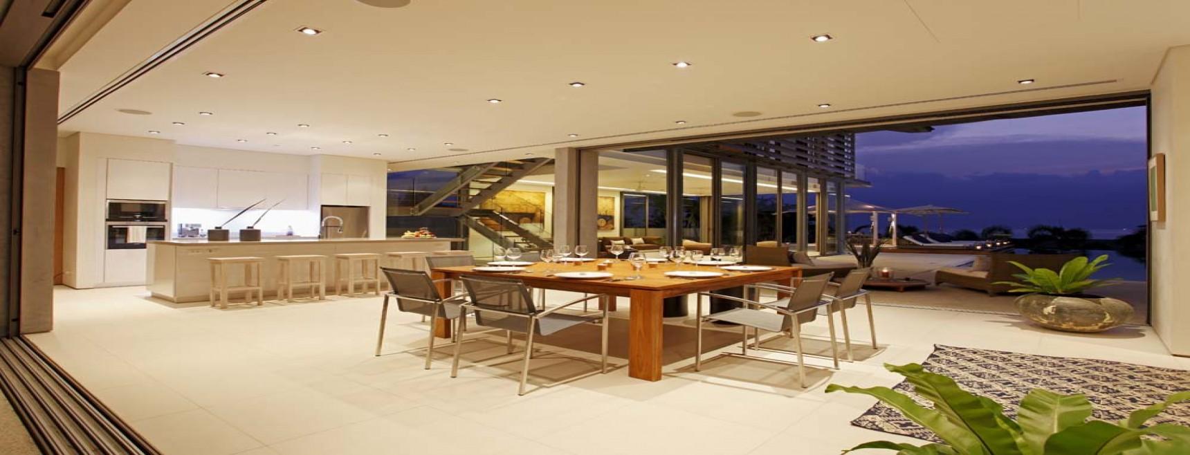 A chic contemporary 3-storey ocean view villa
