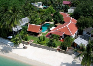 Beach Front Villa For Sale Bangrak, Koh Samui (Thai-Real.com )