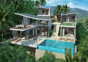 5 Bedrooms, Villa, Residential Sales, 6 Bathrooms, Listing ID 1280, Bophut, North East, Koh Samui,