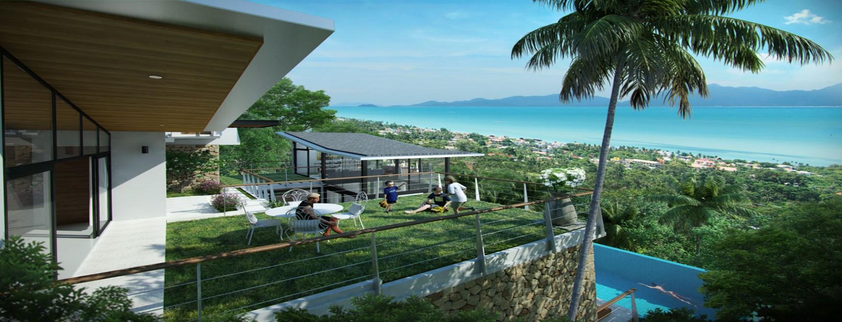5 Bedrooms, Villa, Residential Sales, 6 Bathrooms, Listing ID 1280, Bophut, North East, Koh Samui,