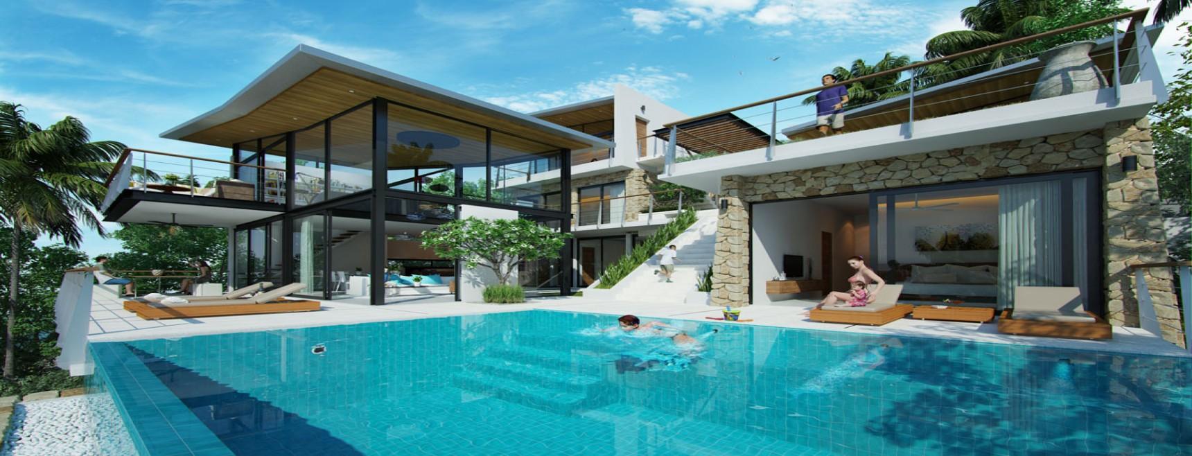 6 Bedrooms, Villa, Residential Sales, 7 Bathrooms, Listing ID 1281, Koh Samui,