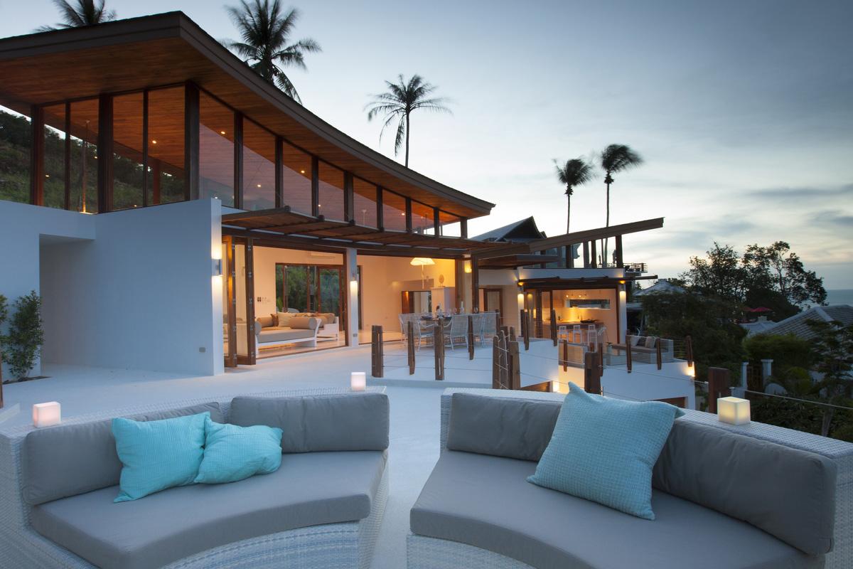 Villa Kya Luxury Villa For Sale Bophut Koh Samui Thai