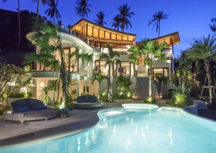 4 Bedrooms, Villa, Residential Sales, 5 Bathrooms, Listing ID 1405, Bophut, North East, Koh Samui,