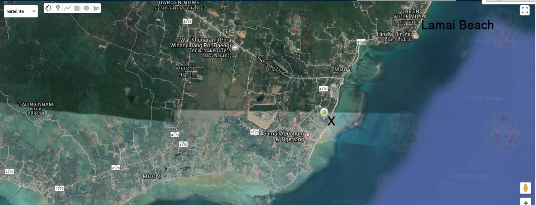 9 Rai For Sale Koh Samui Huatanon Beach (Thai-Real.com)