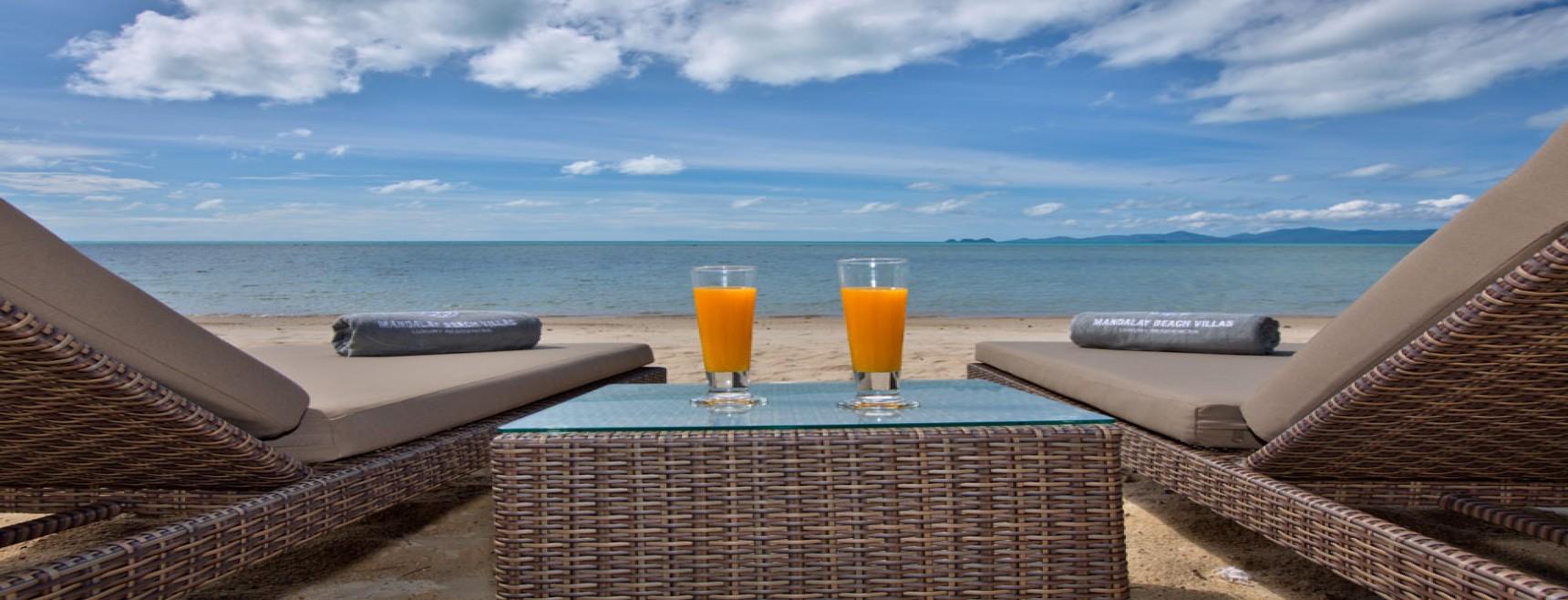 thai villas for sale on the beach