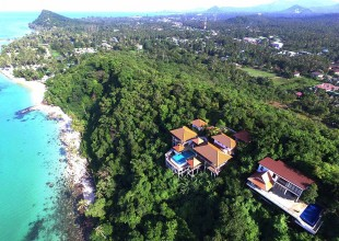 2 Rai For Sale Ban Tai Beach, Koh Samui With Existing Building (Thai-Real.com)