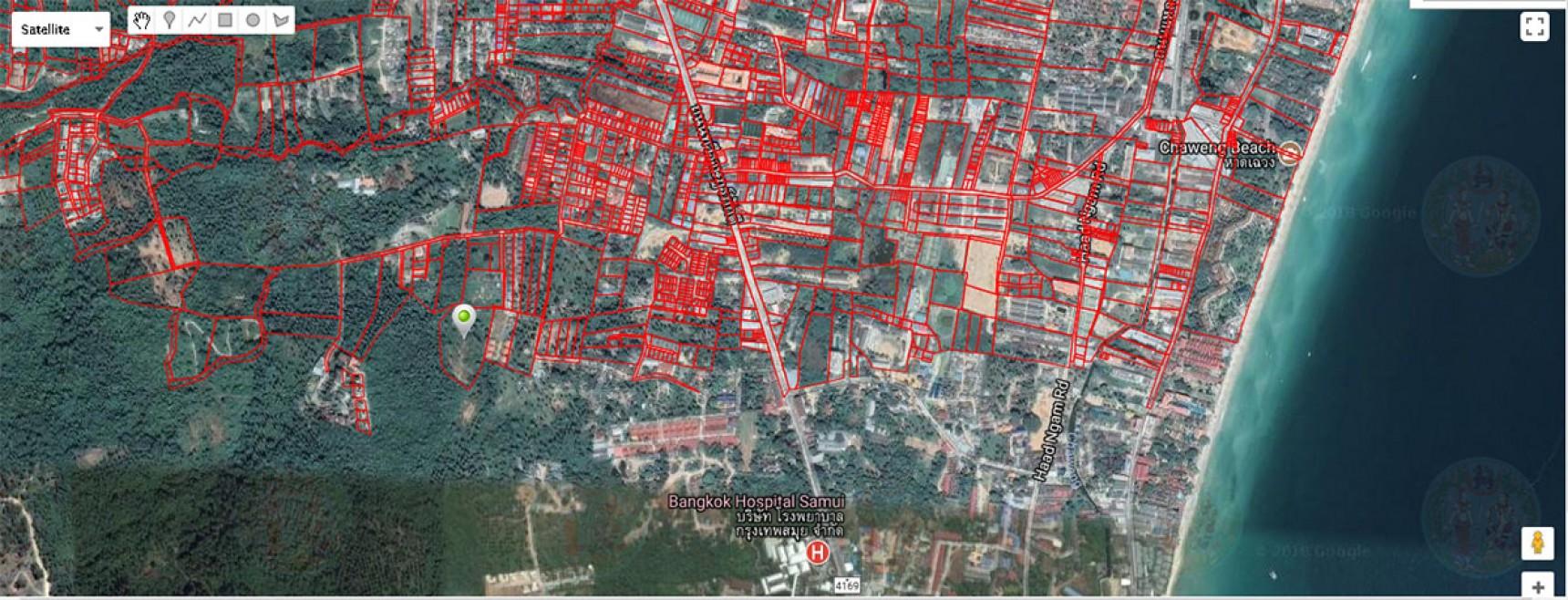 8 Rai Land For Sale Chaweng, Koh Samui (Thai-Real.com)