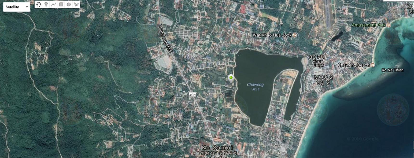 2.5 Rai For Sale Chaweng Lake, Koh Samui (Thai-Real.com)