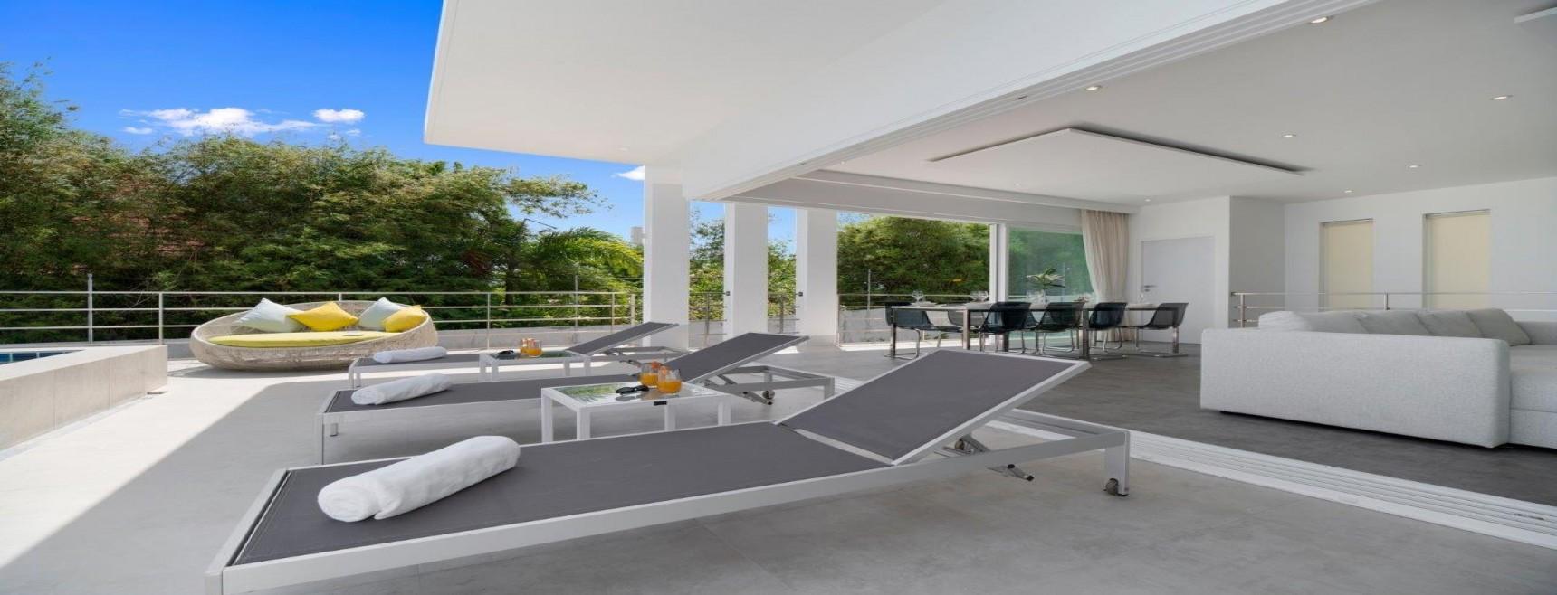 sea view villa, koh samui, 3 bedrooms