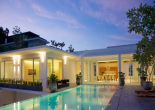 cape yamu, luxury villa, Phuket, ocean view, sea view