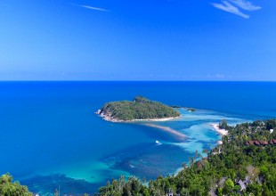 land sale, Chaweng, Koh Samui, sea view, subdivision