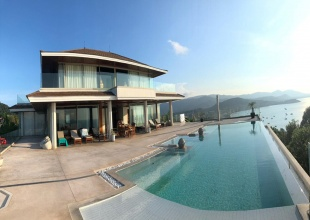 elysium, luxury villa, panoramic, ocean views, sea views, 6 bedrooms, Plai Laem, Koh Samui