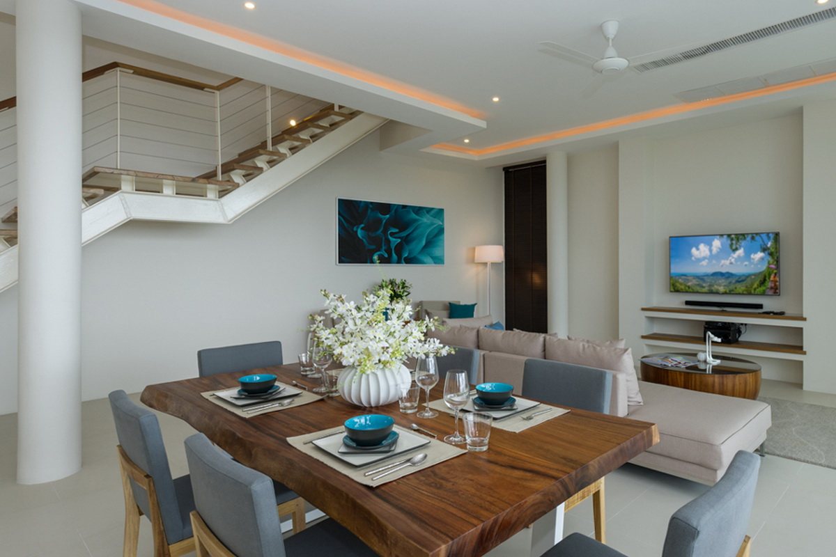 3 bedroom seaview pool villa Koh Samui
