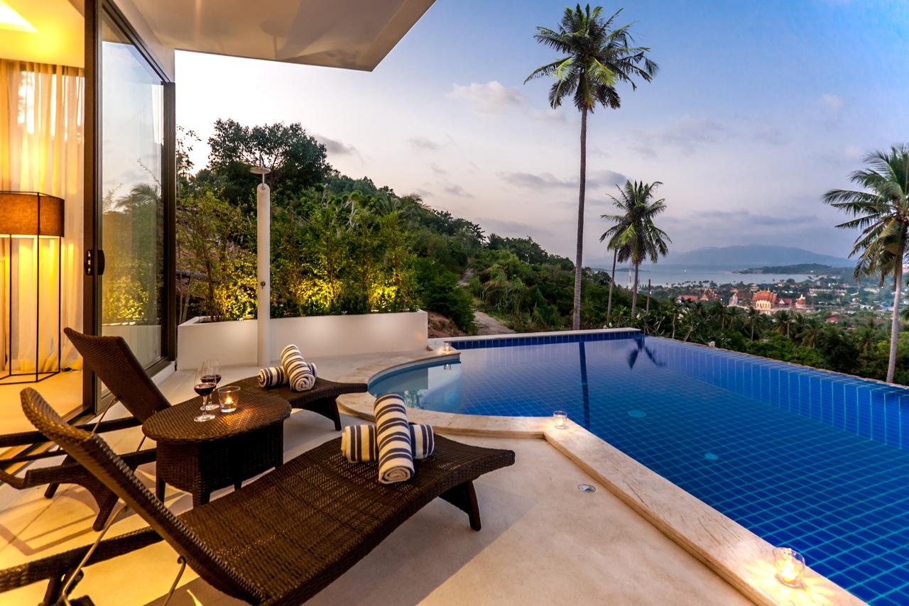 The Ridge Sea View Villas Plai Laem Koh Samui