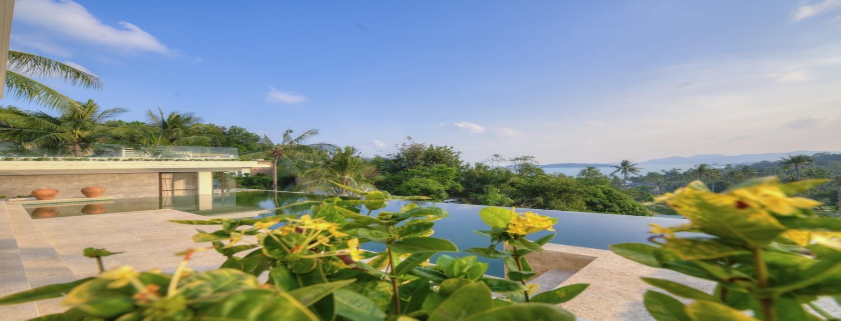 Choeng Mon, North East, Koh Samui, 6 Bedrooms Bedrooms, 2 Rooms Rooms,Villa,Holiday Villa Rentals,1534