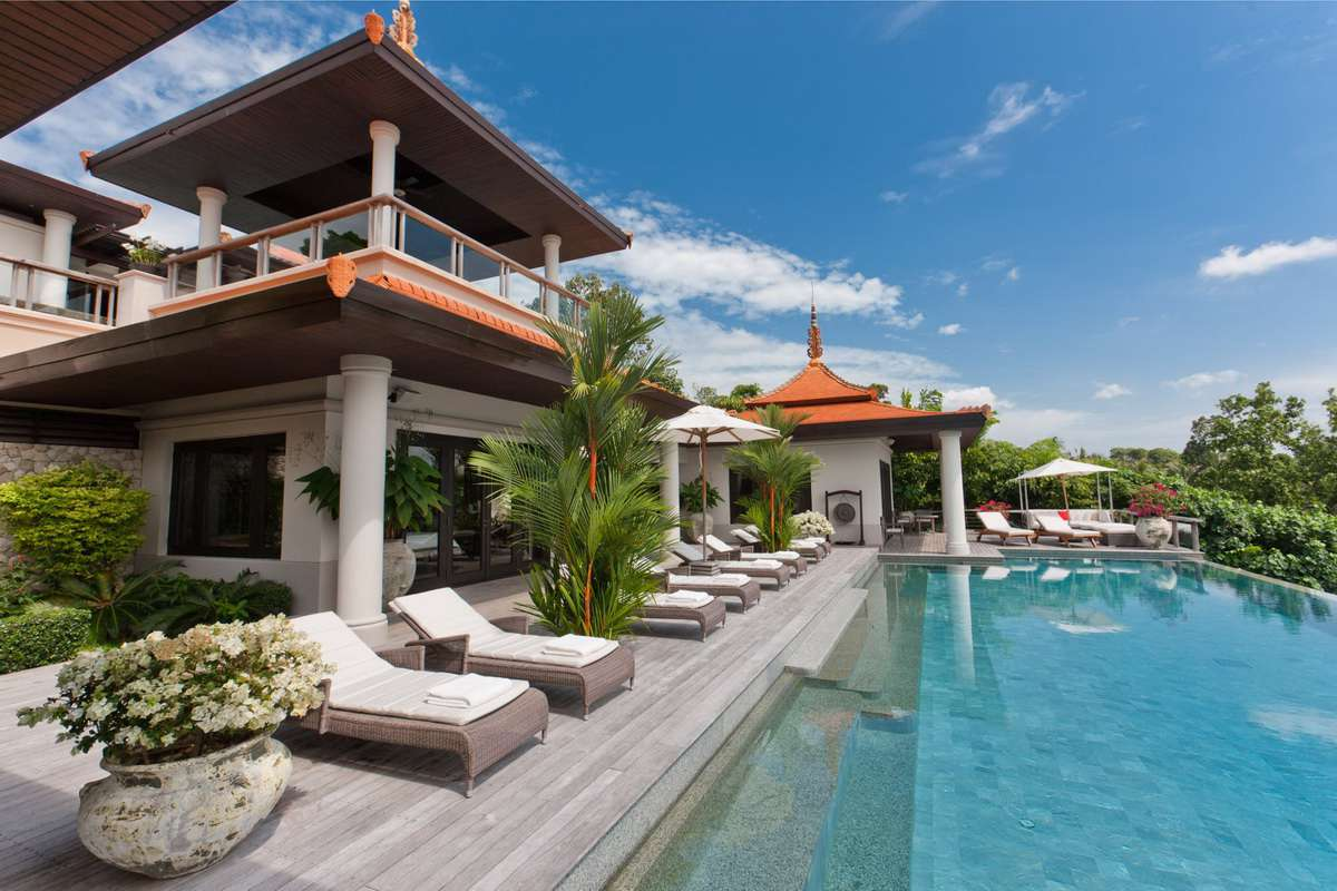 Spectacular ocean front residence at the exclusive Trisara Estate (Thai-Real.com)