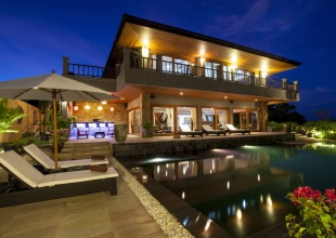 Luxury Villa For Sale in Exclusive Samui Summit Estate