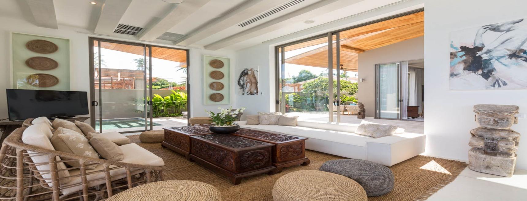 Beach Villa For Sale Koh Samui, Villa Kirana (Thai-Real.com)