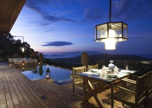 Luxury Mountain Side Villa Plai Laem Koh Samui