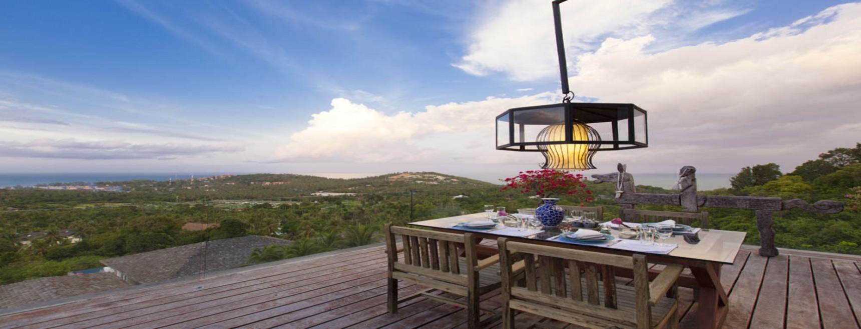Luxury Mountain Side Villa Plai Laem Koh Samui